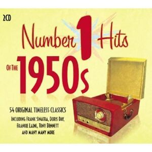 Number-1-Hits-Of-The-1950s-2-CD-SET-BRAND-NEW-SEALED
