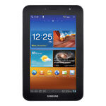 Samsung Galaxy Tab GT-P6210 32GB, Wi-Fi, 7in - Metallic Gray