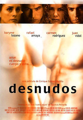 Sealed - Desnudos Dvd De Enrique Gomez Vadillo Y Rafael Amaya Brand