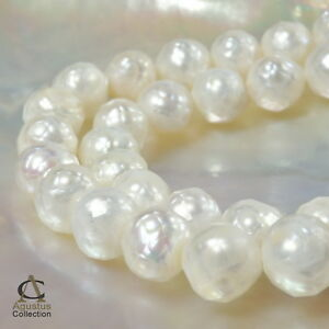 Strand-FACETED-White-FRESHWATER-PEARLS-9-10-mm-15-74