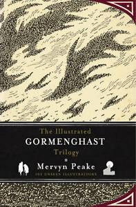 NEW-BOOK-The-Illustrated-Gormenghast-Trilogy-Peake-Mervyn-Books