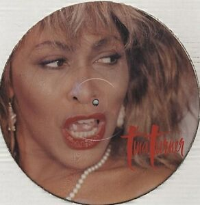 TINA TURNER Typical Male PICTURE DISC 12