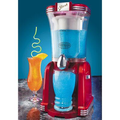 Nostalgia Retro Slushee Frozen Drink Maker, Slush Drinks & Margarita Mix Machine