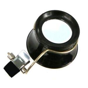 New-5X-Clip-On-Eyeglass-Magnifier-Loupe-Optical-Tool-MI131