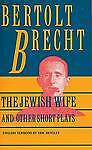 USED (GD) Jewish Wife and Other Short Plays: Includes: In Search of Justice; Inf