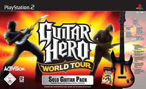 Guitar Hero: World Tour - Solo Guitar Pack (Sony PlayStation 2, 2008, DVD-Box) - <span itemprop='availableAtOrFrom'>Neuss, Deutschland</span> - Guitar Hero: World Tour - Solo Guitar Pack (Sony PlayStation 2, 2008, DVD-Box) - Neuss, Deutschland