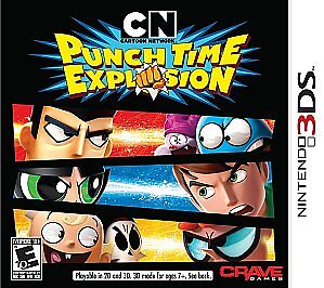NEW-Cartoon-Network-Punch-Time-Explosion-Nintendo-3DS
