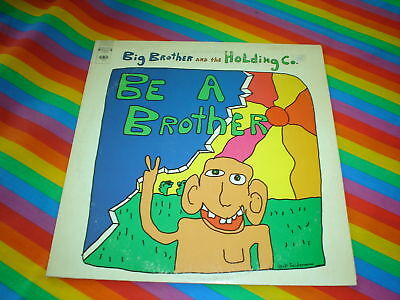 Big Brother And The Holding Company Promo Sticker Copy