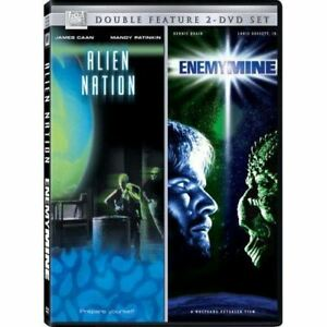 ENEMY MINE + ALIEN NATION DVD 2 PACK SCI FI CLASSICS! R1 SEALED RARE! JAMES CAAN