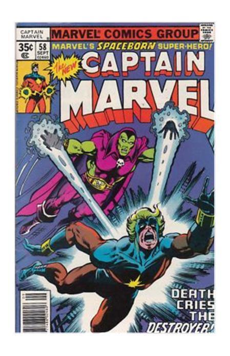 captain marvel 58