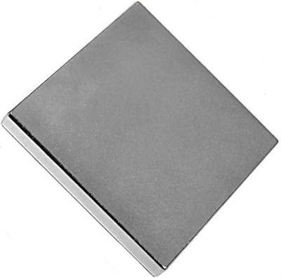1 Neodymium Magnets 2 X 2 X 1/4 Inch Block N48