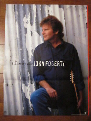 John Forgerty Blue Moon Swamp  In-Store Promo Poster