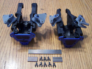 5907 Traxxas 3.3 Slayer Pro Front & Rear Bulkheads w/A-Arm Pins Rockers fit revo