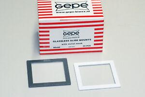 Gepe Diarahmen glaslos 3mm (20 Stück) 6x6 cm (NEU/OVP)