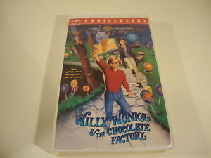 Willy Wonka And The Chocolate Factory Vhs Willy-Wonka-and...