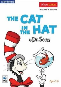 The Cat in the Hat by Dr. Seuss, Mac, Ages 2 to 8, NEW! Australian Stock