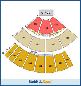2-Phish-Tickets-08-24-12-Pelham-Oak-Mtn-Amphitheater-Sec-101-Row-N