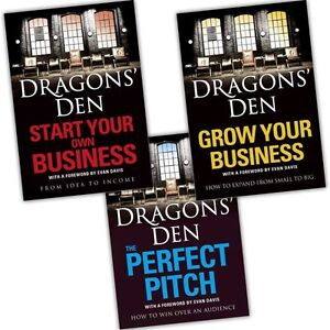 Dragons Den Collection 3 Books Set Grow Your Business, Start Your Own Business