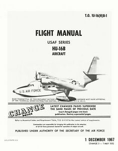 Grumman hu 16b albatross flight manual to 1u 16 h b 1 ebay