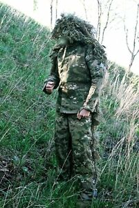 Custom-Handmade-Multicam-Ghillie-Suit-Sniper-USMC-ARMY-SOF-Military-SWAT-CRYE