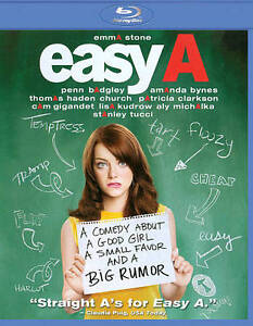Easy A (Blu-ray Disc, 2010)