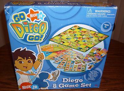 Go Diego Go 8 Game Set – Brand