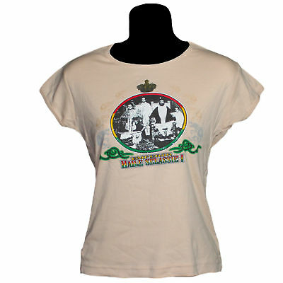 Emperior Haile Selassie Rasta Family T Shirt Reggae Africa Ethiopia Jamaica Ts