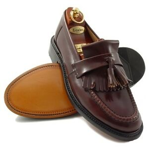 LOAKE-BRIGHTON-MENS-TASSEL-LOAFER-OXBLOOD-MANY-SIZES