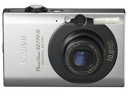 Canon 85 IS / PowerShot Digital ELPH SD770 IS