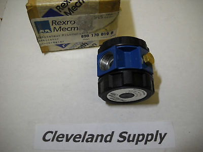 Rexroth Mecman 8901700190 Pneumatic Regulator In Box