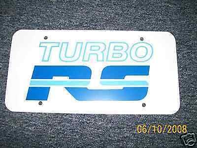 1980's Mercury Capri Turbo Rs License Plate - Blue