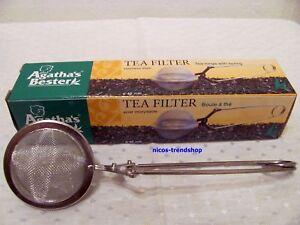 Tea Filter  ** Tee Ei-Zange** Teezange 45 mm * Tee Ei** Agatha's Bester Qualität