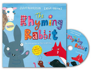 The-Rhyming-Rabbit-Book-and-CD-Pack-Donaldson-Julia-New-Condition