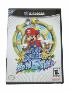 Buy Super Mario Sunshine Nintendo Gamecube 2002 Online Ebay