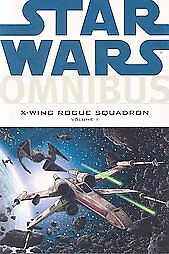 Book-STAR-WARS-OMNIBUS-X-WING-ROGUE-SQUADRON-volume-1-thick-comic-style-book