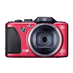 GE G100 14.0 MP Digital Camera - Red