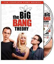 Big Bang Theory COMPLETE First Season 1 ONE 1st DVD 2008 3-Disc Set