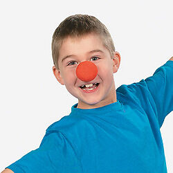 12 Birthday Party Favor CARNIVAL CIRCUS CLOWN NOSES