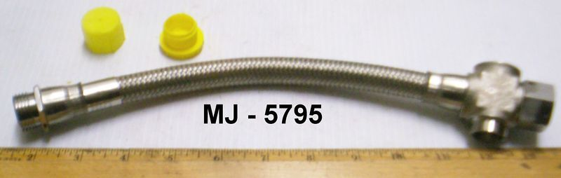 Aeroquip - Stainless Steel Braided Hose Assembly - P/N: AE700818-2  (NOS)
