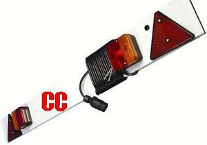 light board for trailer with 5 meters cable emergency or bike carrier
