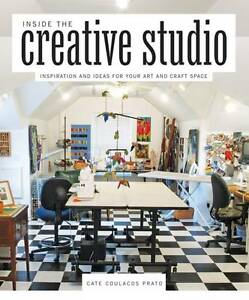 INSIDE THE CREATIVE STUDIO by Cate Coulacos Prato : AU2-R6D : PBL 983 : NEW BOOK