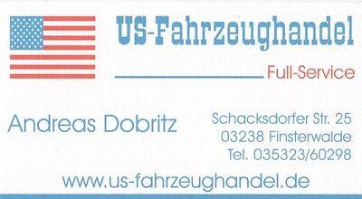 US-Fahrzeughandel Finsterwalde