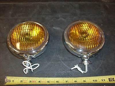 """FOG LIGHTS  5"""" CHEVROLET TRUCKS 1947 48 49 50 51 52 53 54 55 56 57 58"""