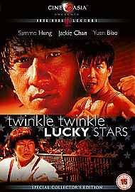 TWINKLE TWINKLE LUCKY STARS DVD JACKIE CHAN SAMMO HUNG YUEN BIAO official NEW