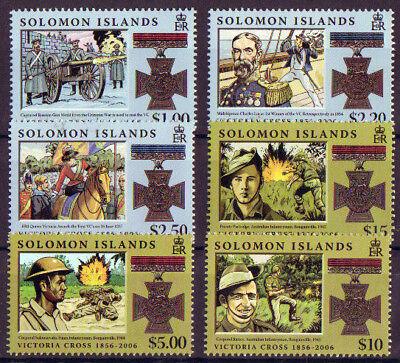 SOLOMON ISLANDS 2006 VICTORIA CROSS SET  UNMOUNTED MINT
