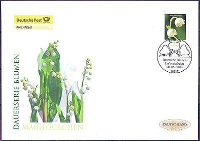 BRD 2010: Maiglöckchen! Post-FDC der Nr. 2794 mit Berliner Ersttagsstempel! 1705