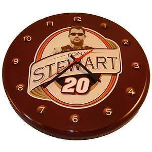 Nostalgic Tin Nascar 20 Tony Stewart - 12 Wall Clock