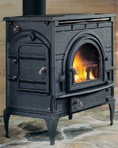 Dutchwest Extra Large Wood Burning Stove Fireplace 2462