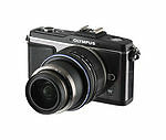 Olympus PEN E-P2 12.3 MP Digital Camera - Black (Kit w/ 17mm Lens)