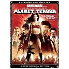 Planet Terror (DVD, 2007, 2-Disc Set, Extended Director's Cut)